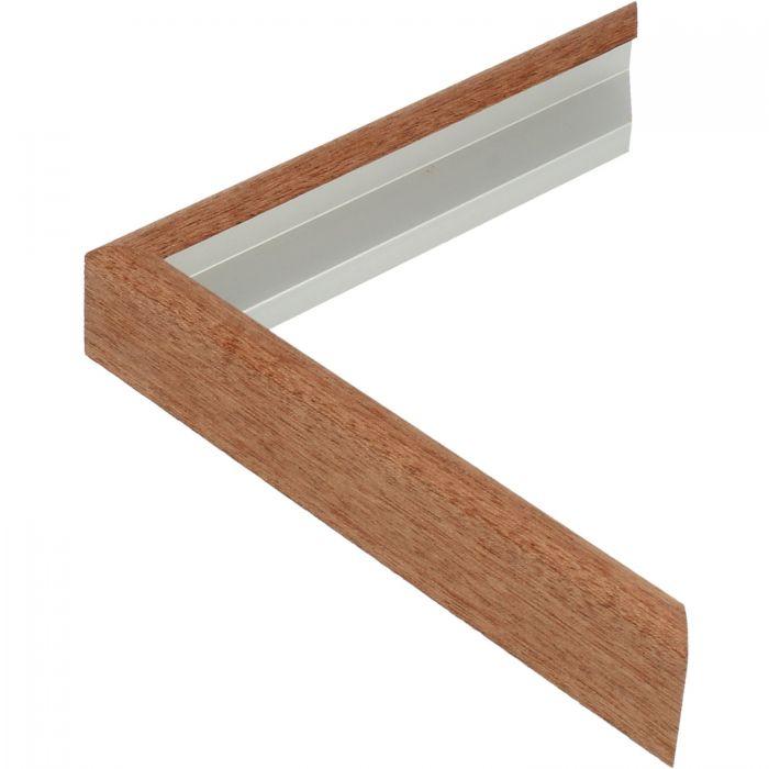 Aluminium lijst -CLARK - Profiel 415 - Mahonie fineer