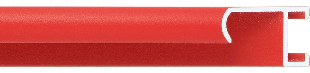 Aluminium lijst -CLARK - Profiel 415 - Rood poedercoating
