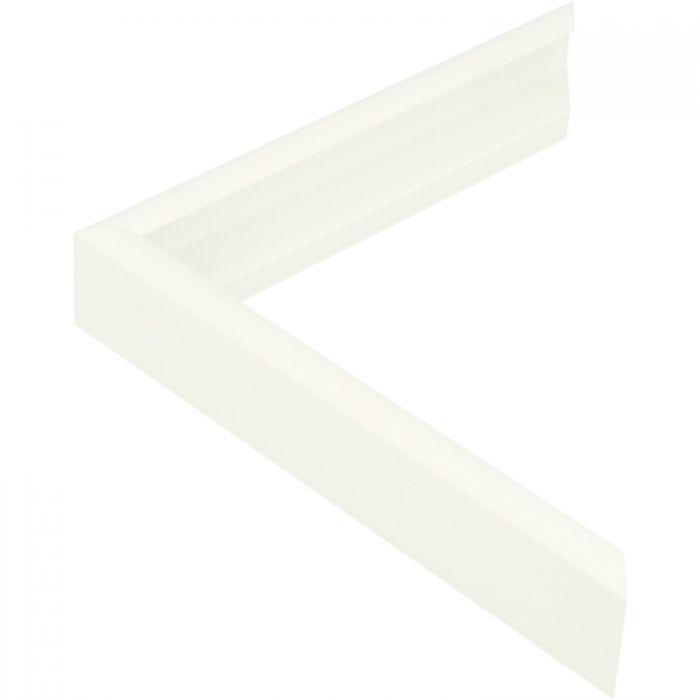 Aluminium lijst -CLARK - Profiel 415 - Wit poedercoating RAL 9016