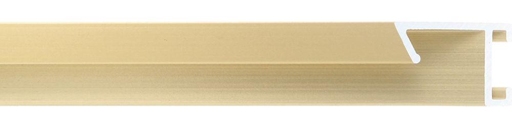 Aluminium lijst - CLARK - Profiel 421 - Geborsteld goud mat