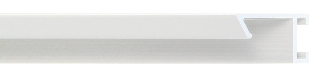 Aluminium lijst - CLARK - Profiel 421 - Geborsteld zilver mat