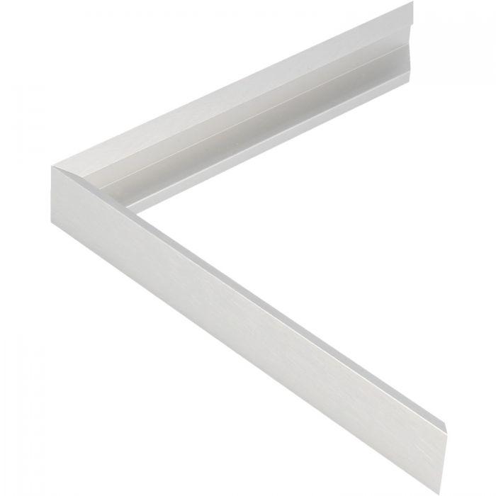 Aluminium lijst - CLARK - Profiel 421 - Kruisgeborsteld zilver
