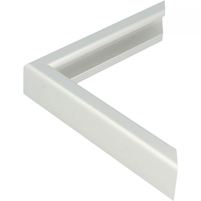 Aluminium lijst - CLARK - Profiel 427 - Geborsteld zilver mat