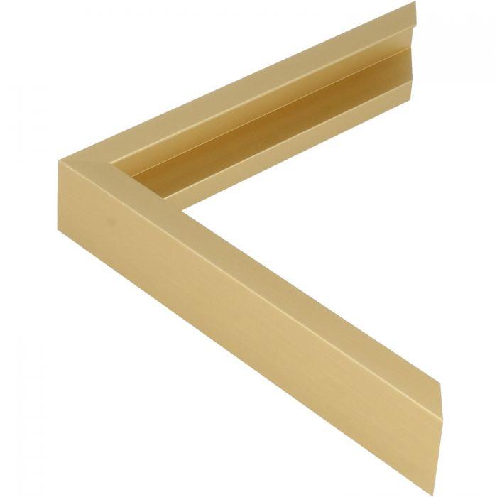 Aluminium lijst - CLARK - Profiel 450 - Geborsteld goud mat