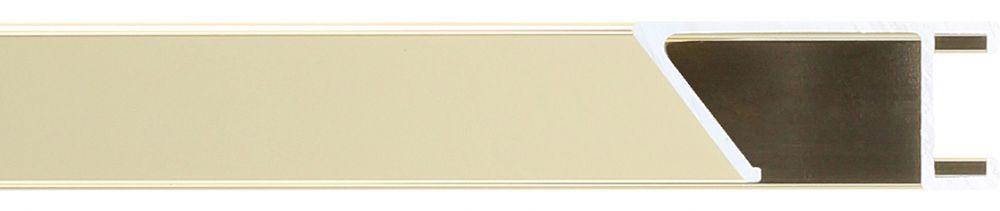 Aluminium lijst -CLARK - Profiel 451 - Glanzend geborsteld champagne