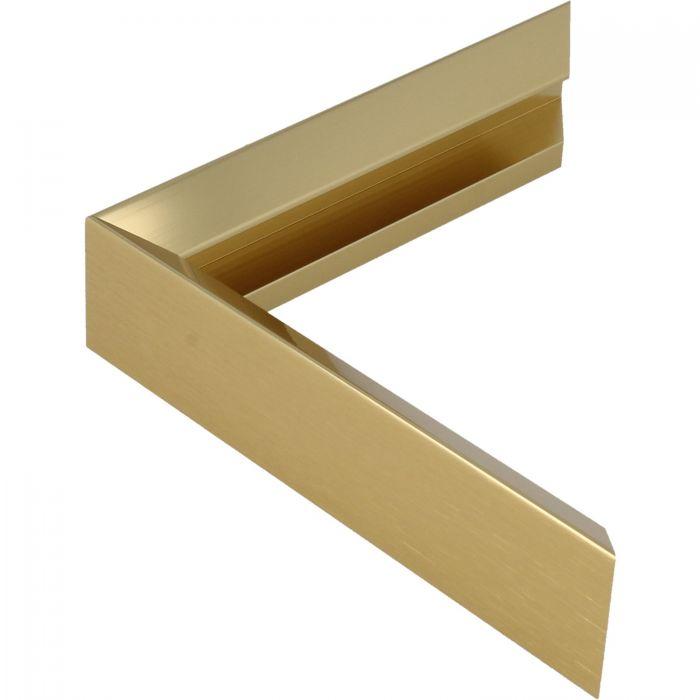 Aluminium lijst -CLARK - Profiel 451 - Glanzend geborsteld goud