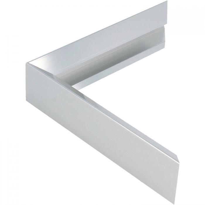 Aluminium lijst -CLARK - Profiel 451 - Glanzend geborsteld zilver