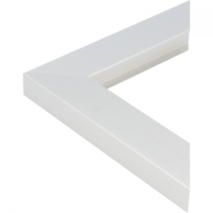 Aluminium lijst - CLARK - Profiel 469 - Geborsteld zilver mat