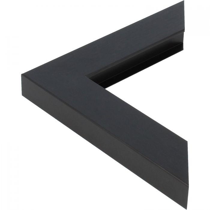 Aluminium lijst - CLARK - Profiel 469 - Geborsteld zwart mat