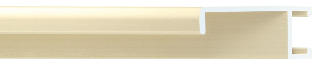 Aluminium lijst -  Profiel 422 - Geborsteld champagne mat