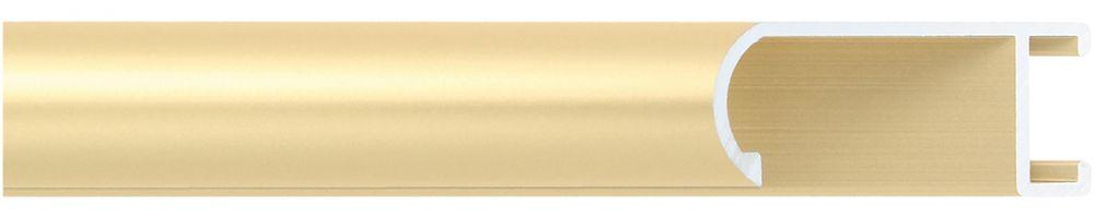 Aluminium lijst -  Profiel 471 - Geborsteld goud mat