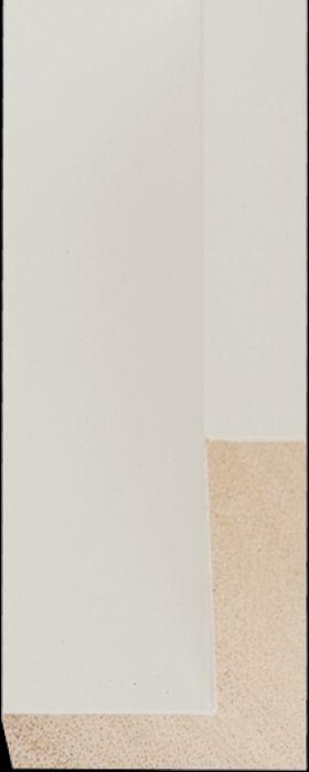 Baklijst 3 d wit profiel breedte 18 mm