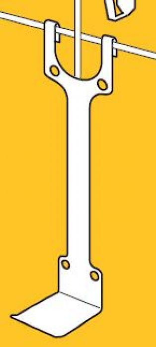 Draadwandhaken hoogte 325 mm