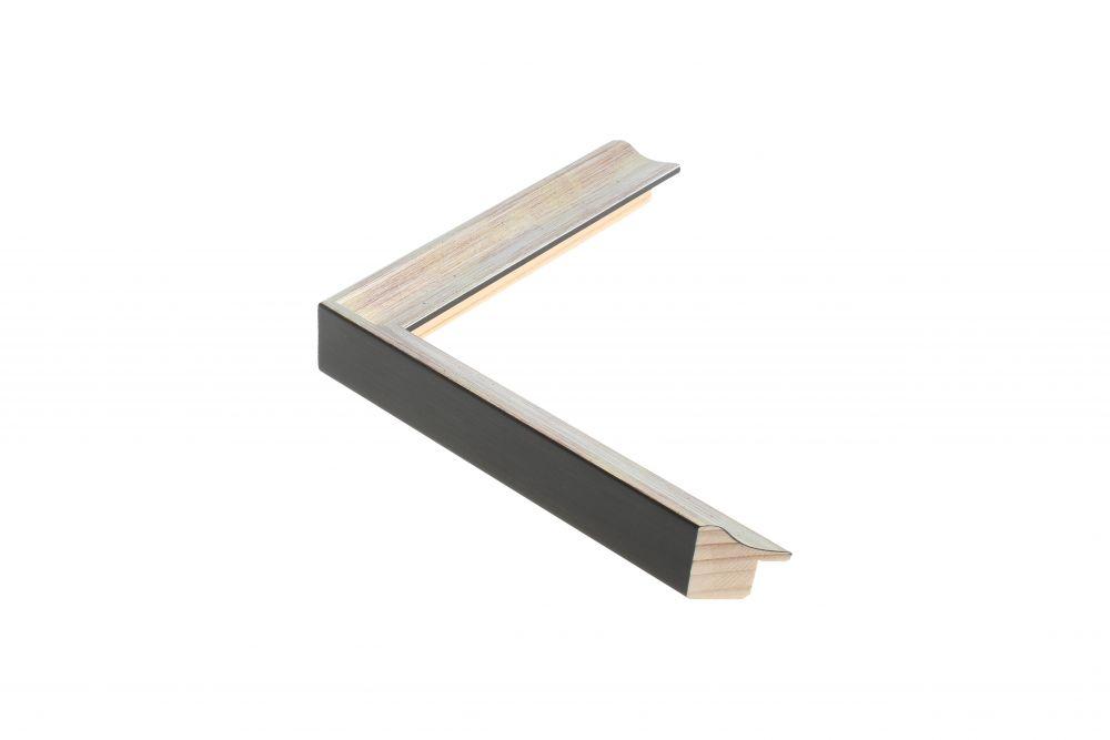 Houten lijst -  ANJOU - Zilver 20 mm