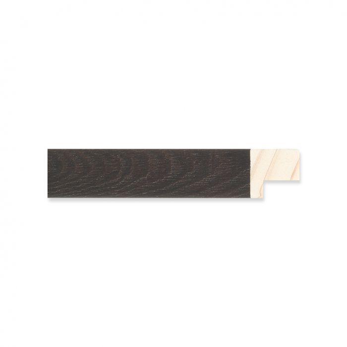 Houten lijst - Ebbehout breed 17 mm