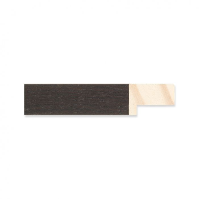 Houten lijst -Ebbehout breedte 19 mm