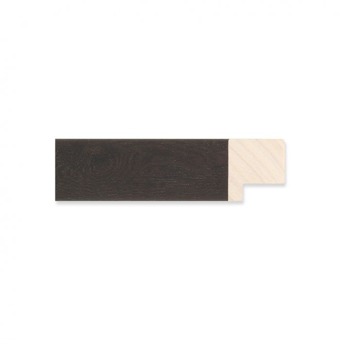 Houten lijst -  Ebbehout breedte 22 mm