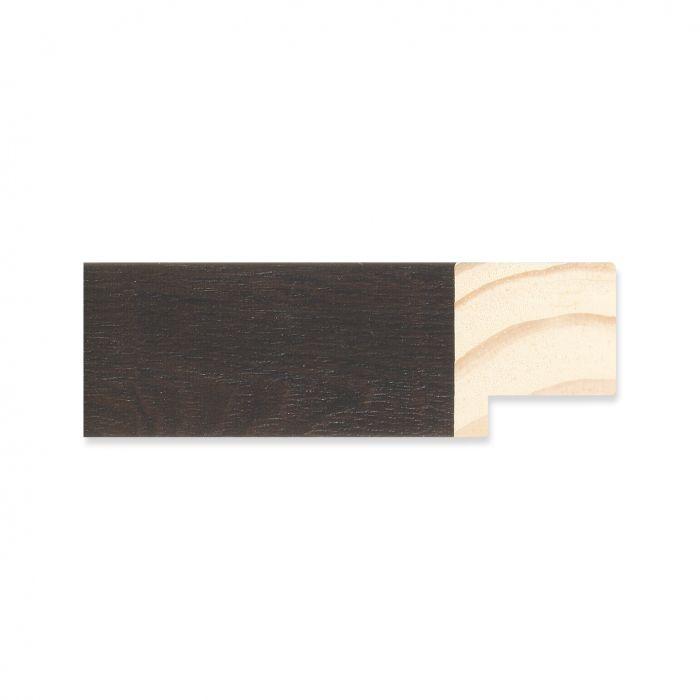 Houten lijst -  Ebbehout breedte 30 mm