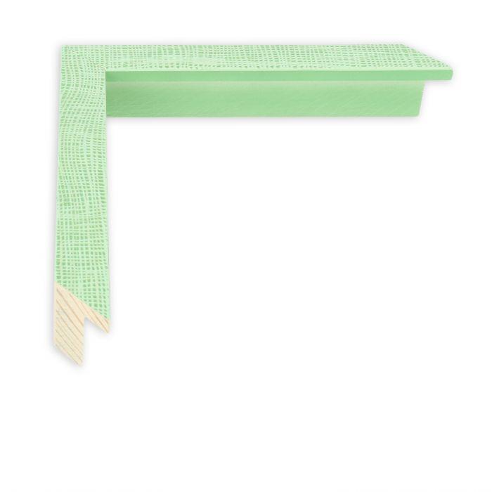 Houten lijst - HEMMA-I - Groen gaasstructuur
