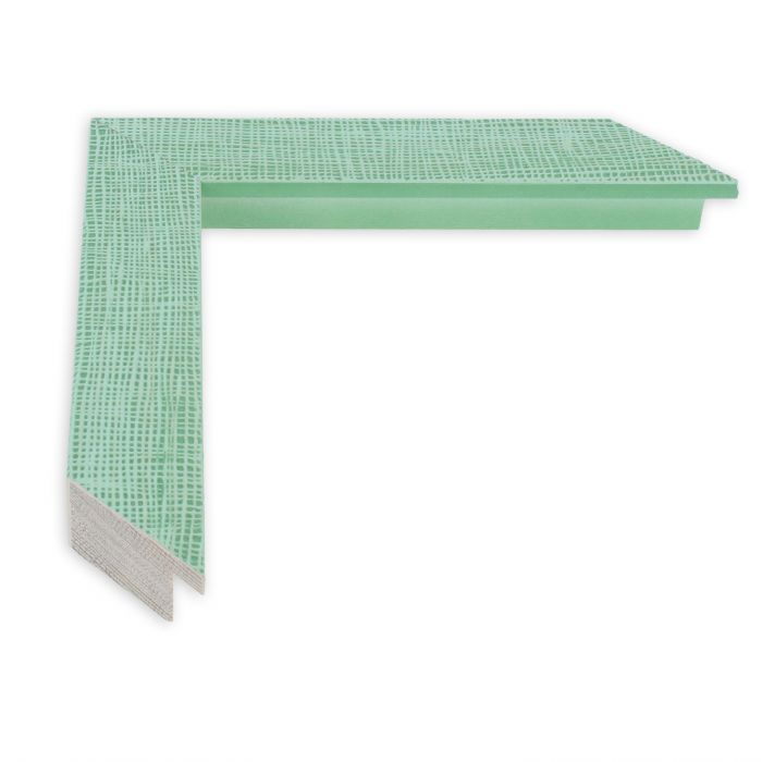 Houten lijst - HEMMA-III- Groen gaasstructuur