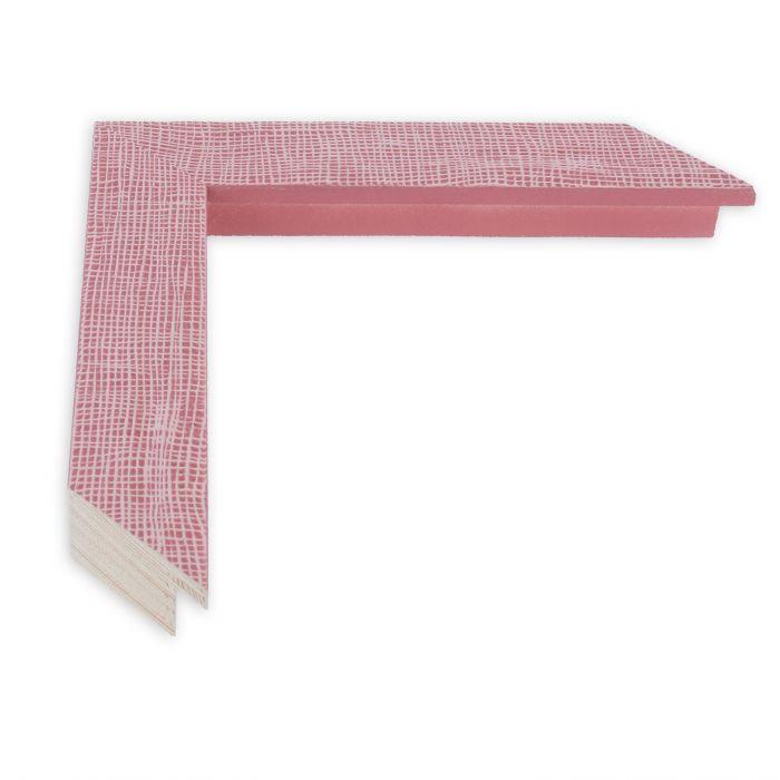 Houten lijst - HEMMA-III - Rood gaasstructuur