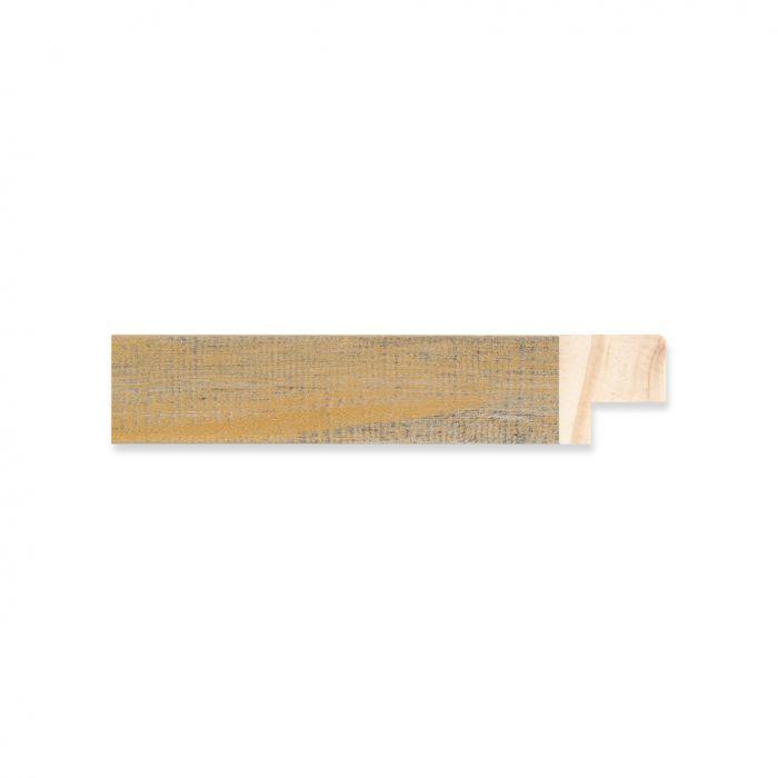 Houten lijst -  Oud goud hout breed 17 mm