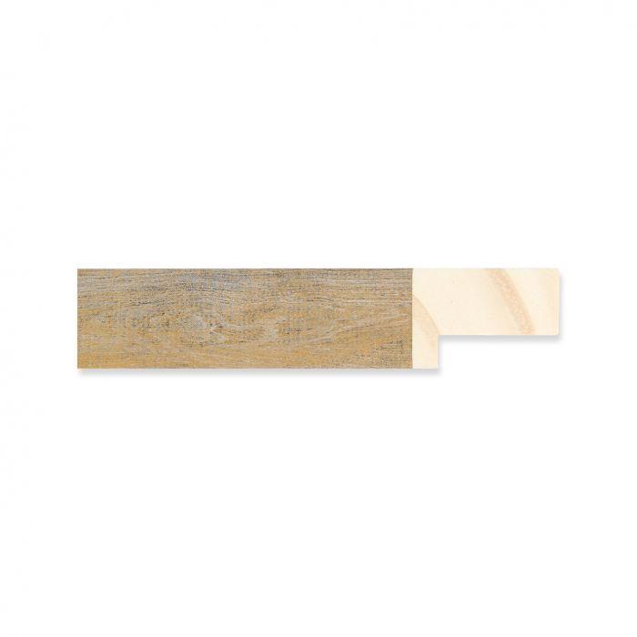 Houten lijst -  Oud goud hout breedte 19 mm