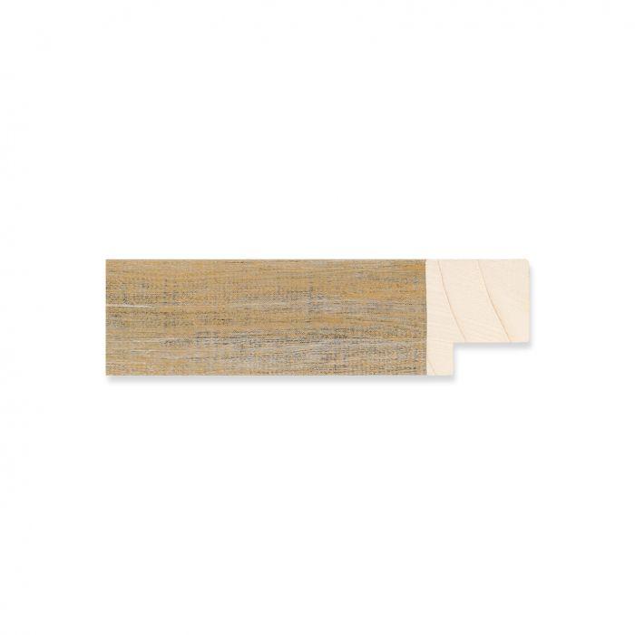 Houten lijst - Oud goud hout breedte 22 mm