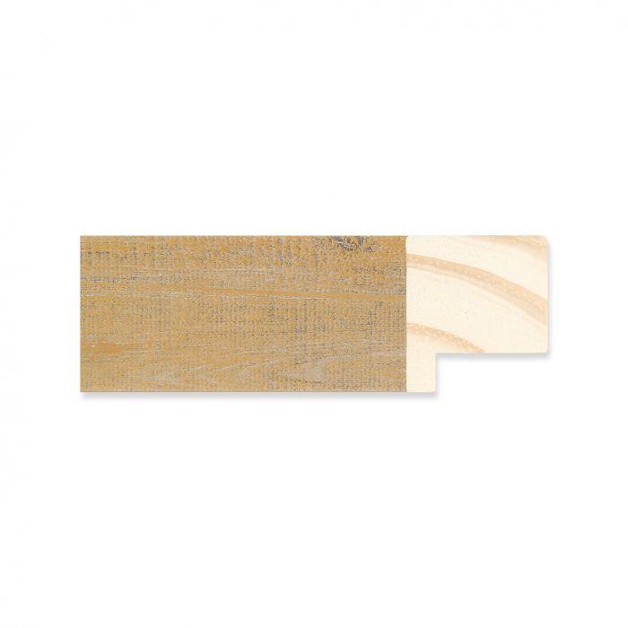 Houten lijst -  Oud goud hout  breedte 30 mm