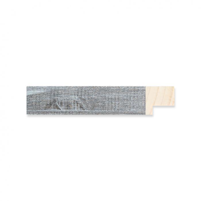 Houten lijst -  Oud grijs hout  breed 17 mm