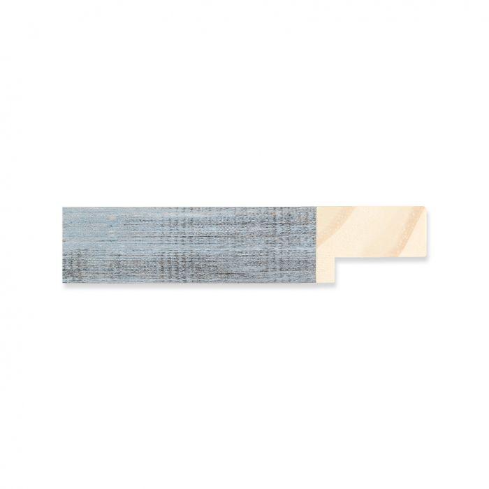 Houten lijst -- Oud grijs hout breedte 19 mm