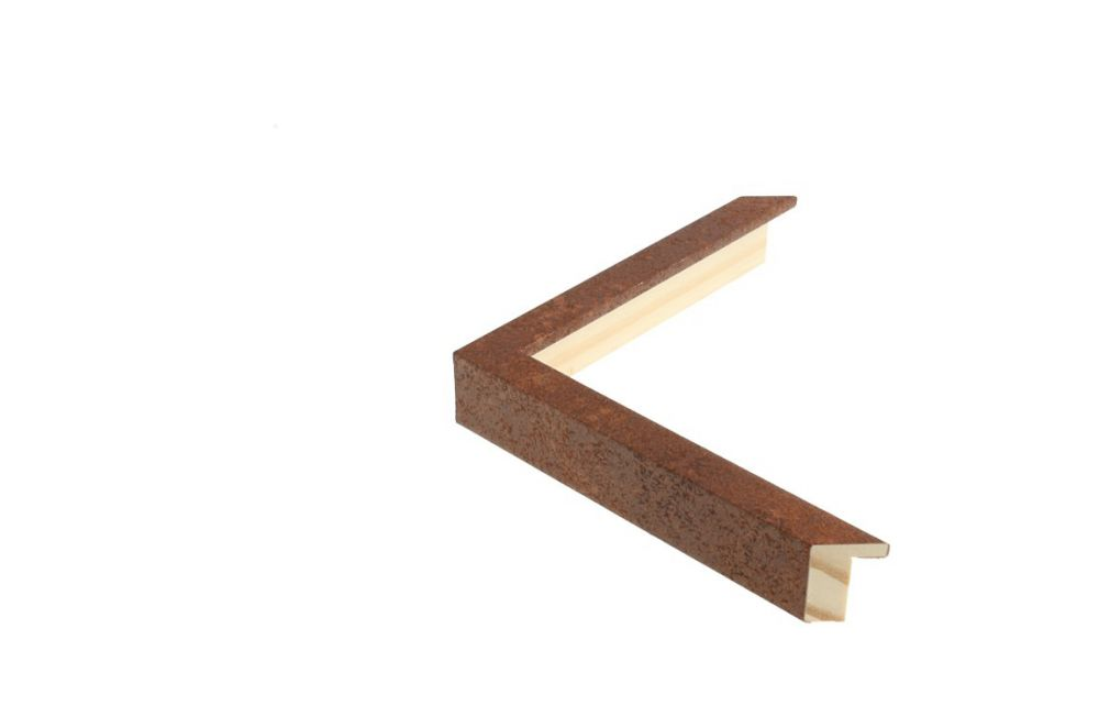 Houten lijst - TOUCHOXIDE - Roest-geoxideerd  Profielbreedte: 15 mm