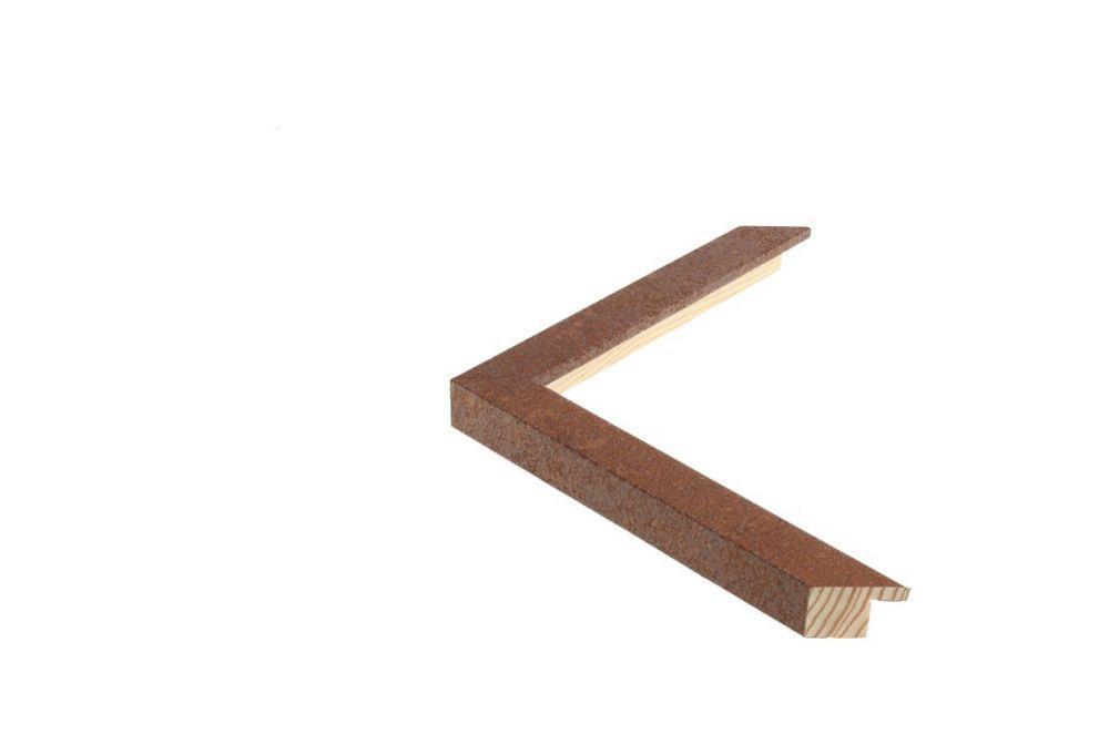 Houten lijst - TOUCHOXIDE - Roest-geoxideerd   Profielbreedte: 20 mm