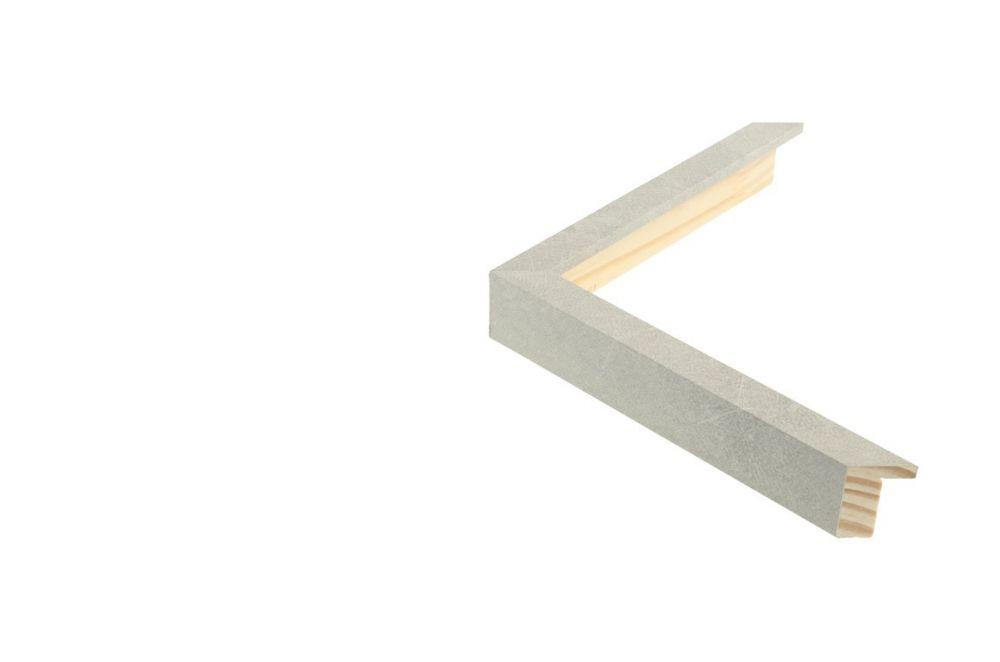 Houten lijst - TOUCHSTONE - Steen-Lichtgrijs breed 15 mm