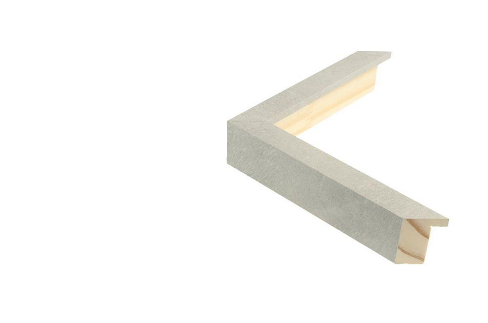 Houten lijst - TOUCHSTONE - Steen-Lichtgrijs breed 20 mm