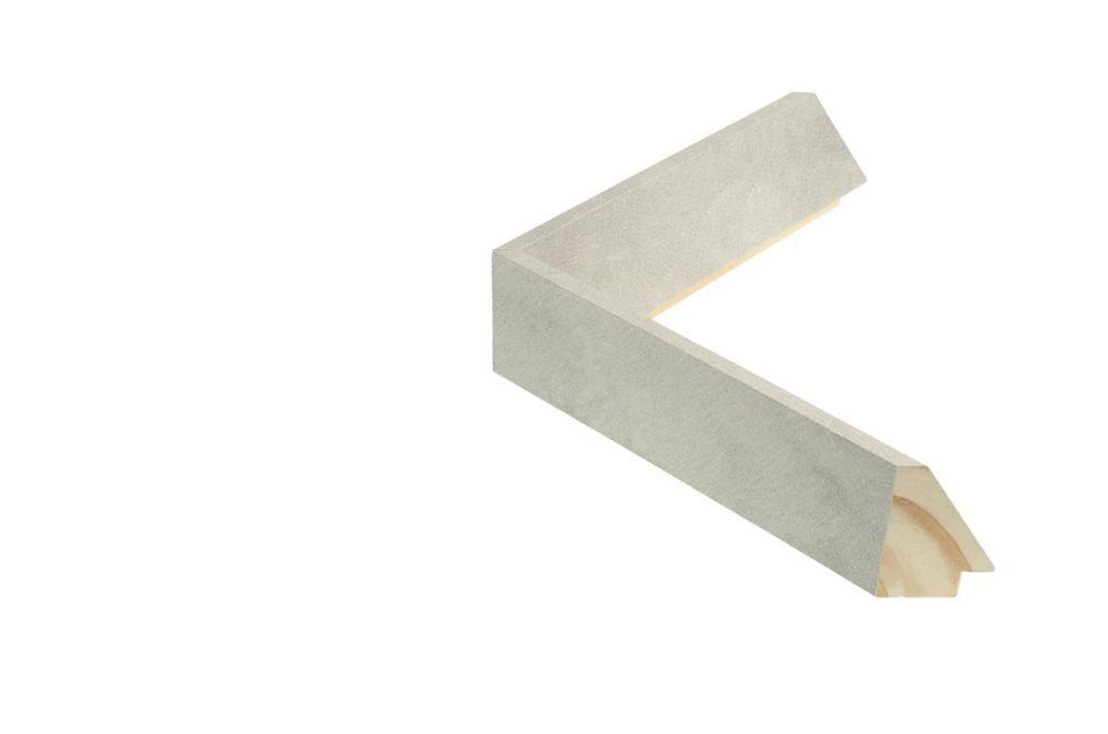 Houten lijst - TOUCHSTONE - Steen-Lichtgrijs breed 23 mm
