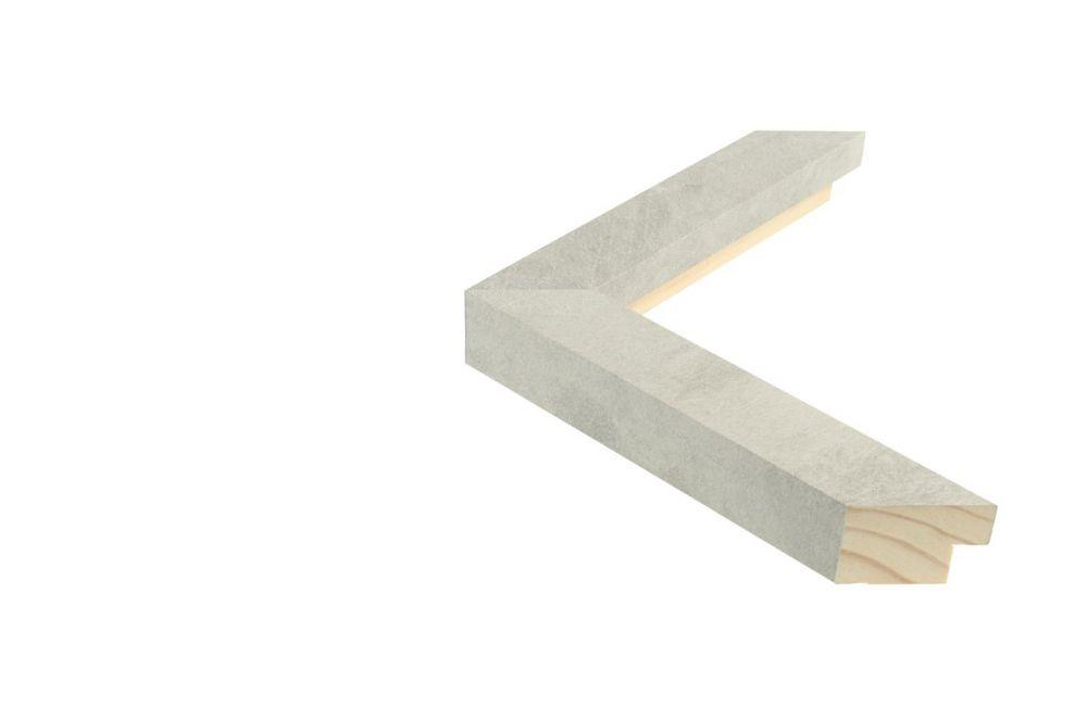 Houten lijst - TOUCHSTONE - Steen-Lichtgrijs  breed 30 mm