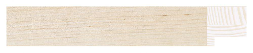 Houten lijst - TOUCHWOOD ART (T-WOOD ART) - Esdoorn - fineer Profielbreedte: 30 mm