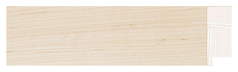 Houten lijst - TOUCHWOOD ART (T-WOOD ART) - Esdoorn - fineer Profielbreedte: 48 mm