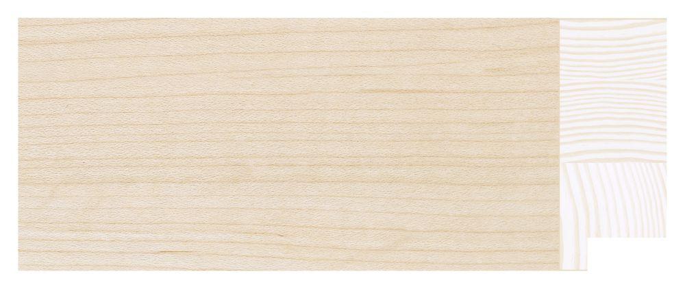 Houten lijst - TOUCHWOOD ART (T-WOOD ART) - Esdoorn - fineer Profielbreedte: 70 mm