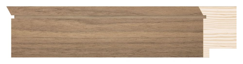 Houten lijst - TOUCHWOOD UNIQUE - Walnoot - fineer Profielbreedte: 40 mm