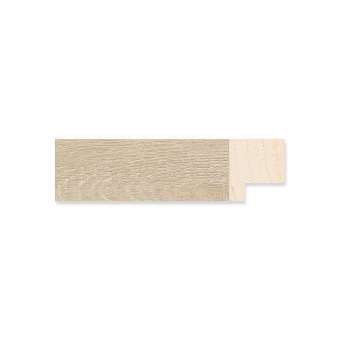 Houten lijst - Witgewassen Eiken breedte 22 mm