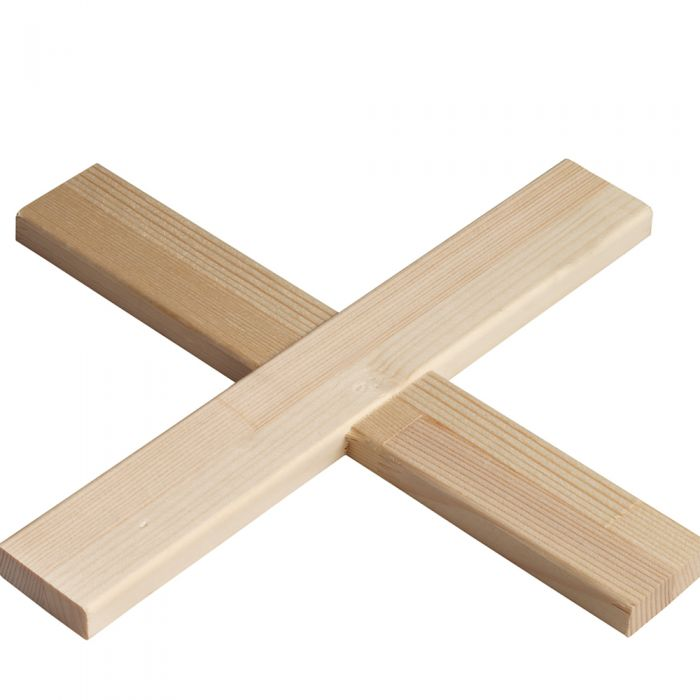 kruislat of tussenlat voor spielatten 45 mm x 18 mm per stuk