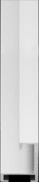 largo aluminium lijst  35 04 Frosted silver
