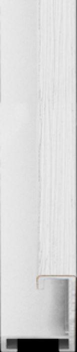 largo aluminium lijst  35-301 wit
