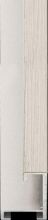 largo aluminium lijst  35-303 ivoor