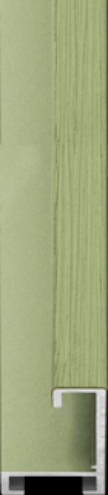 largo aluminium lijst  35-309 pastel groen