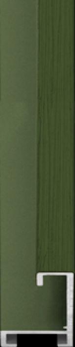 largo aluminium lijst  35-310 olive green