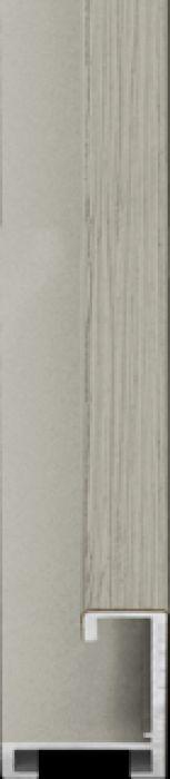 largo aluminium lijst 35-313 licht grijs