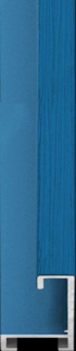 largo aluminium lijst  35-314 licht blauw